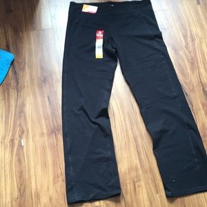 Champion fitted black active stretch pants